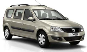 DACIA LOGAN 7SEATS